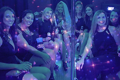 Exciting, affordable, and convenient bachelor and bachelorette party transportation awaits in the back of our amenity-packed party bus and is available throughout Tampa Bay and surrounding areas!