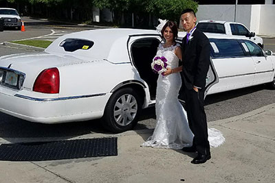 Choose from classic luxury sedans, romantic limousines, and even limo and party buses to whisk the couple, wedding party, or attendees around on the big day.