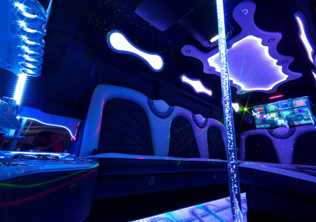 party bus for bachelor bachelorette party brandon
