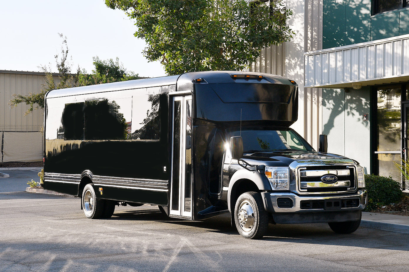 24-26 passenger limo, party bus