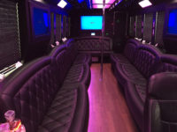 tailgating transportation limo bus tampa