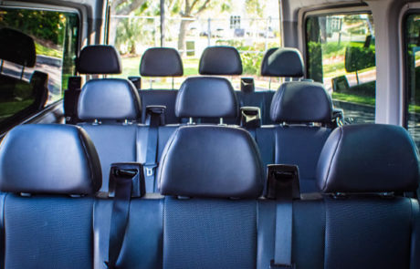 concert transportation for large group in clearwater
