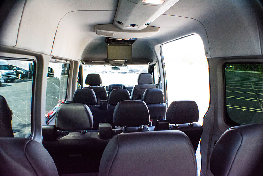 Passenger van for tampa family road trip